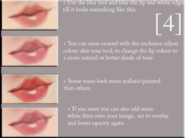 Lip Tutorial- Part Four by LovesLostWords