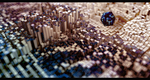 Data City C4D Scene by gearspec