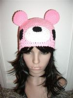 crochet GLOOMY BEAR hat by Irenescrochet