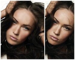 Megan Fox Retouch by Rockn-rose