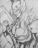 Thor - Jane Foster  by 4zr43l