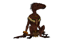 Raptoran mummy by ZeWqt