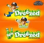 Mascot and logo for Dreezed by SOSFactory