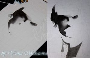Ian Somerhalder The Vampire Diaries by Makarova17