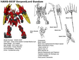 NAMS-G03F SerpentLord Gundam by Deadman0087