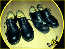 Dr. Martens new and old by nikolass by nikolass83gianni
