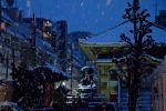 Snow in Tokyo 4 by Ezcent
