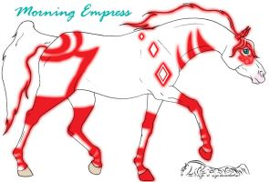 Morning Empress - Tronequine by maniacalmarie16