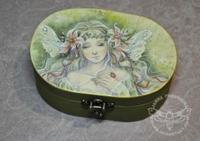 Ivy ART box by JannaFairyArt