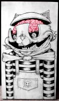 Kitty Brains by KillerNapkins