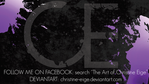 New Business Card-Rough Draft1 by Christine-Eige