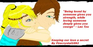 Keeping our love a secret cover by firecrystal1092