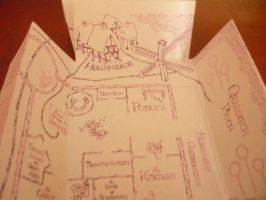 Marauder's Map by 00cheily00