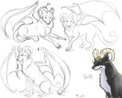 Swift Sketches by kookybat
