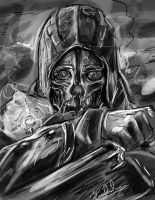 Dishonored Speed Sketch by artmello