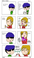 Brofist: Pg. 1: Concept by uhnevermind