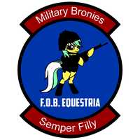 FOB Equestria Patch by Spangladesh