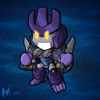 Commission - Galvatron Primal by MattMoylan