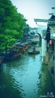 Wuzhen, China by lonelyss12