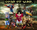 Gods of War by WOLFBLADE111
