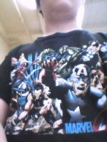 Favorite Marvel shirt by TheUltimateSpiderFan