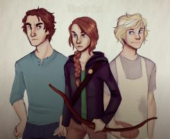 The Hunger Games (Gift) by WillowLightfoot