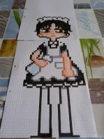 Maid Rivaille from Shingeki No Kyojin by YumiChanLovesTeddys