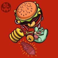 Cheeseburger Backpack by REGEN-1