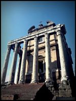 Koloss from the: forum romanum by Picavinci