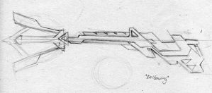 Keyblade: Deltawing sketch by PhoenixTrooper