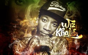 Wiz Khalifa Wallpaper by SBM832