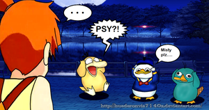 Misty and.... Psyduck(s).