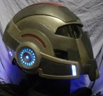Mass effect Helmet by anarchysquared