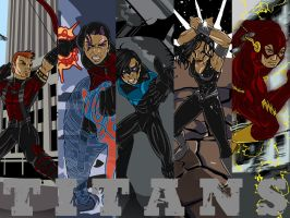 Titans by Ammotu