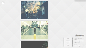 Folsense Tumblr Theme by thentheyplantedtrees