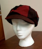 patchwork hat by zlyoga