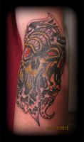 Tims Coverup by UndergroundTattoos
