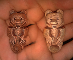 New Love Bear Totems by Demite