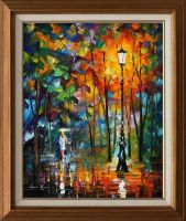 NEW-WHITE UMBRELLA by Leonidafremov
