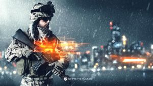 Battlefield 4 fan art by NordlingArt