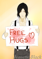 Free hugs anyone? by Jeanette-Black