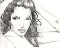 Angelina Jolie by Kelly-ART