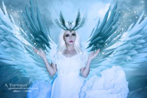 The Angel is back by annemaria48