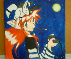Ragna Painting... by Iciclefobbit