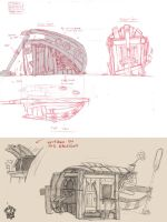 Transforming boat into house by Ingmar-Nopens