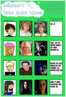 Voice Actor Meme by EternalInsanity787