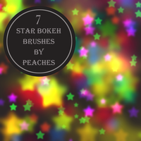 Star Bokeh Brushes by JU5TPeachy