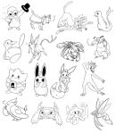 Pokemon Sketchdump by Viur