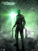 Splinter Cell BlackList Wallpaper Creasitedesign by creasitedesign