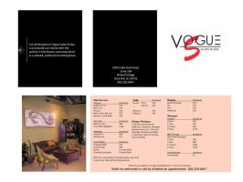 Vogue Salon and Spa Brochure by ThomasPhifer